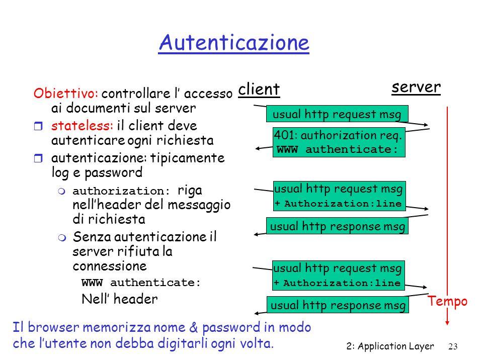 Autenticazione server client