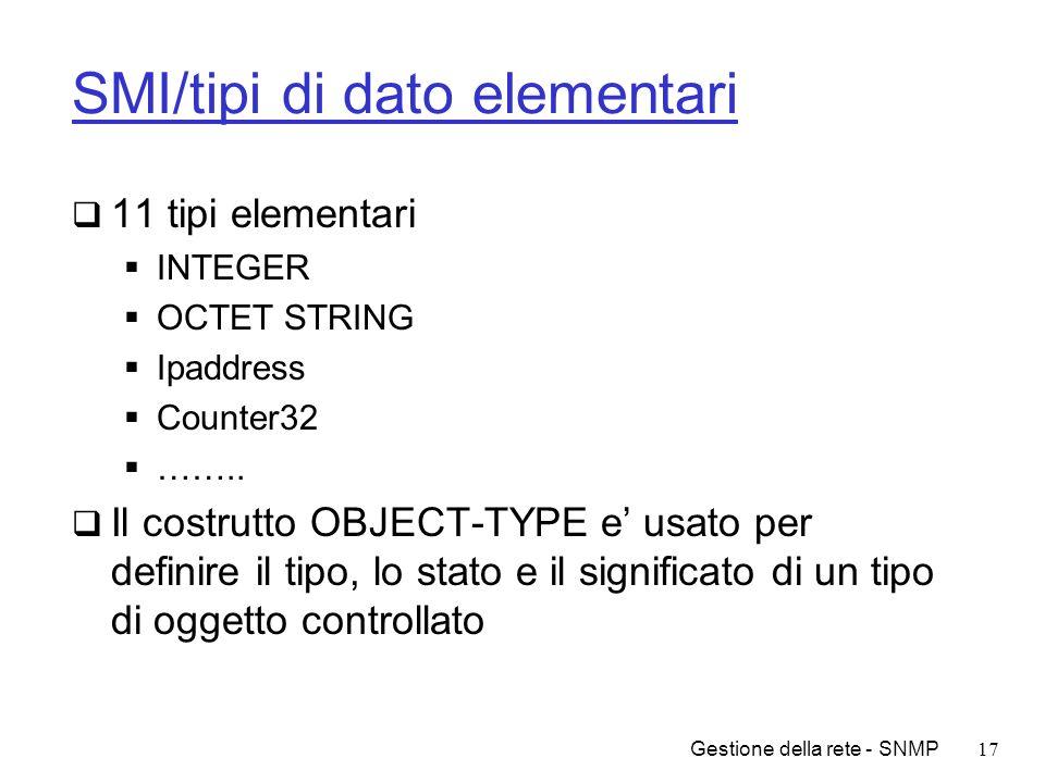 SMI/tipi di dato elementari