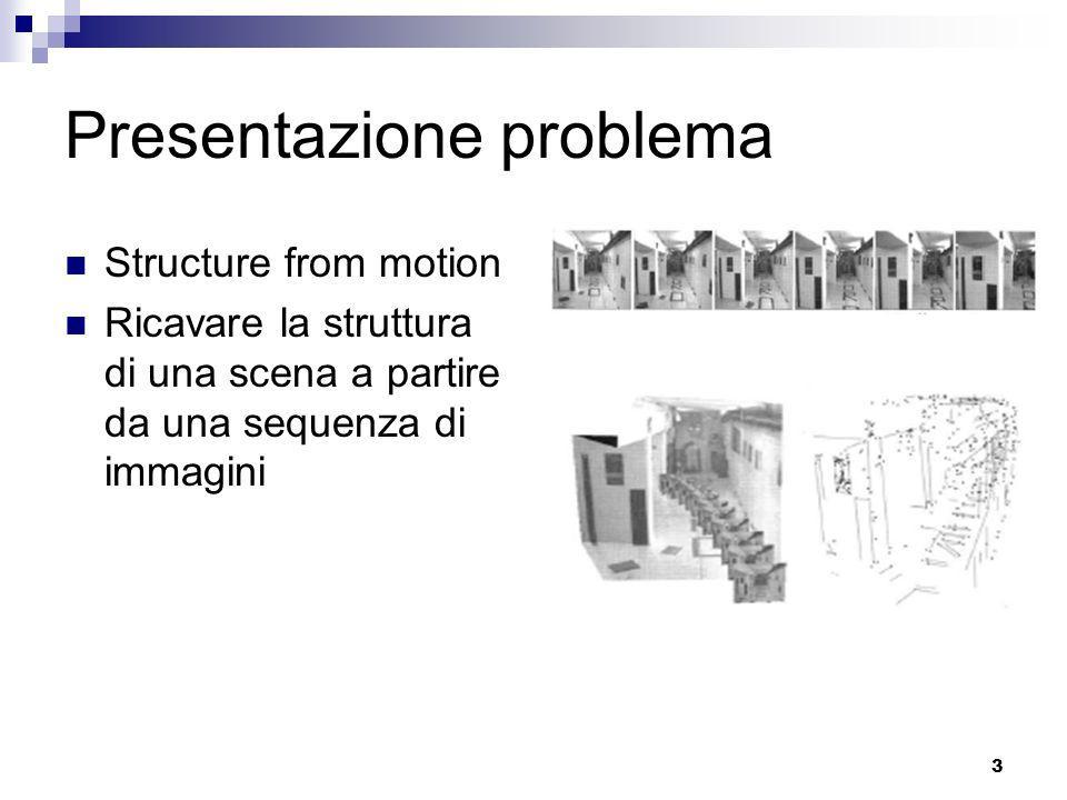 Presentazione problema