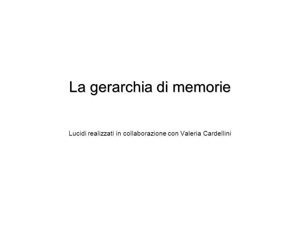 La gerarchia di memorie
