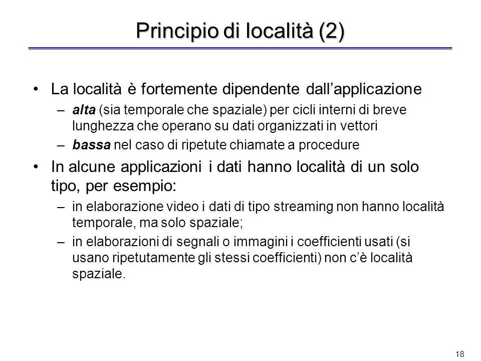 Principio di località (2)