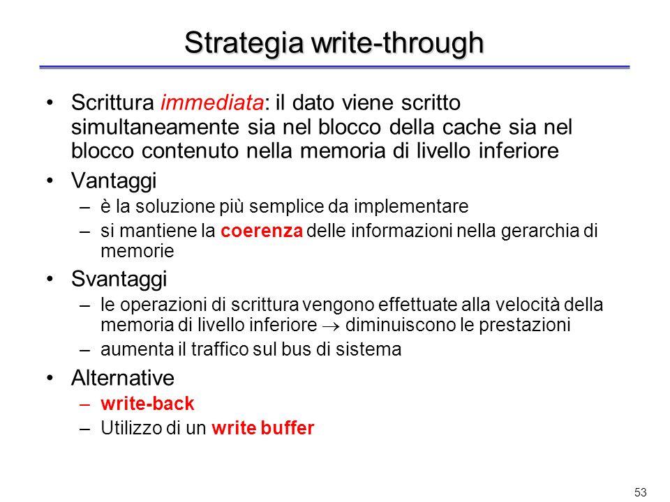 Strategia write-through