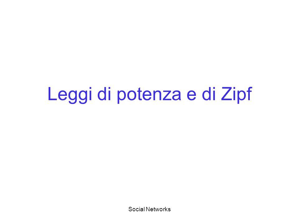 Leggi di potenza e di Zipf