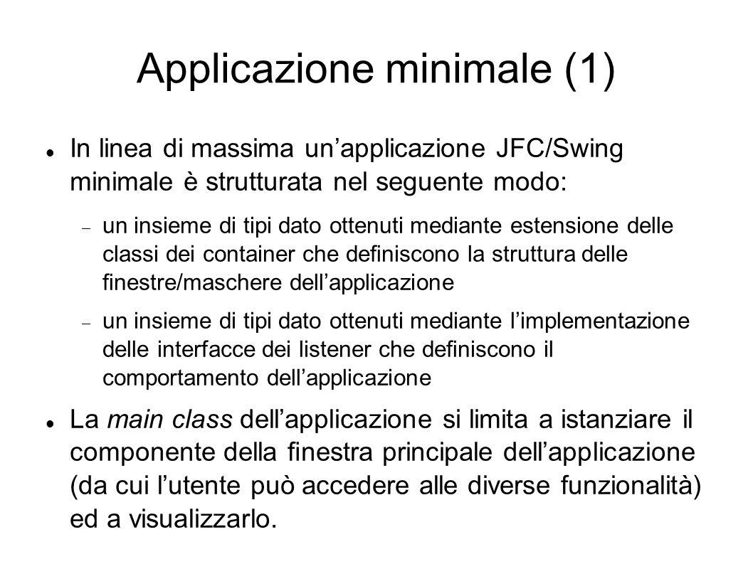 Applicazione minimale (1)
