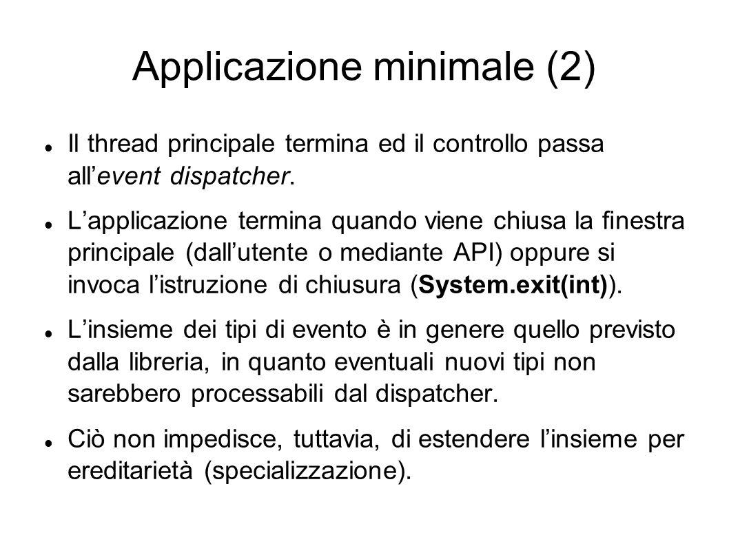 Applicazione minimale (2)