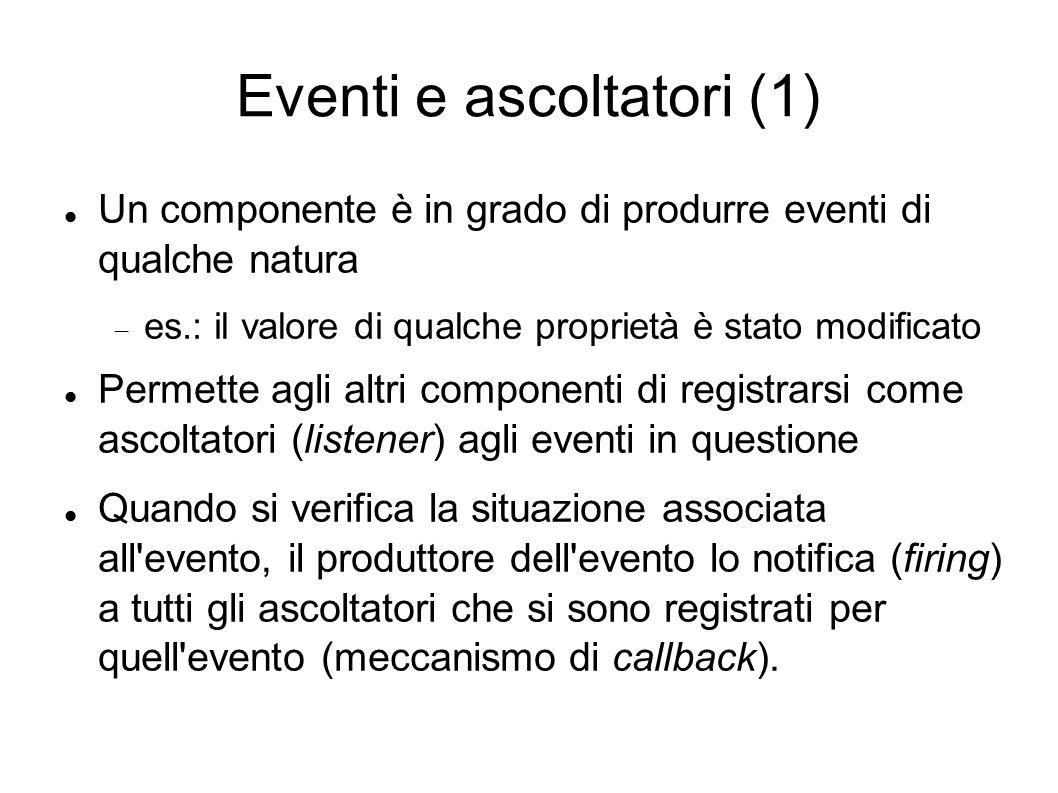 Eventi e ascoltatori (1)