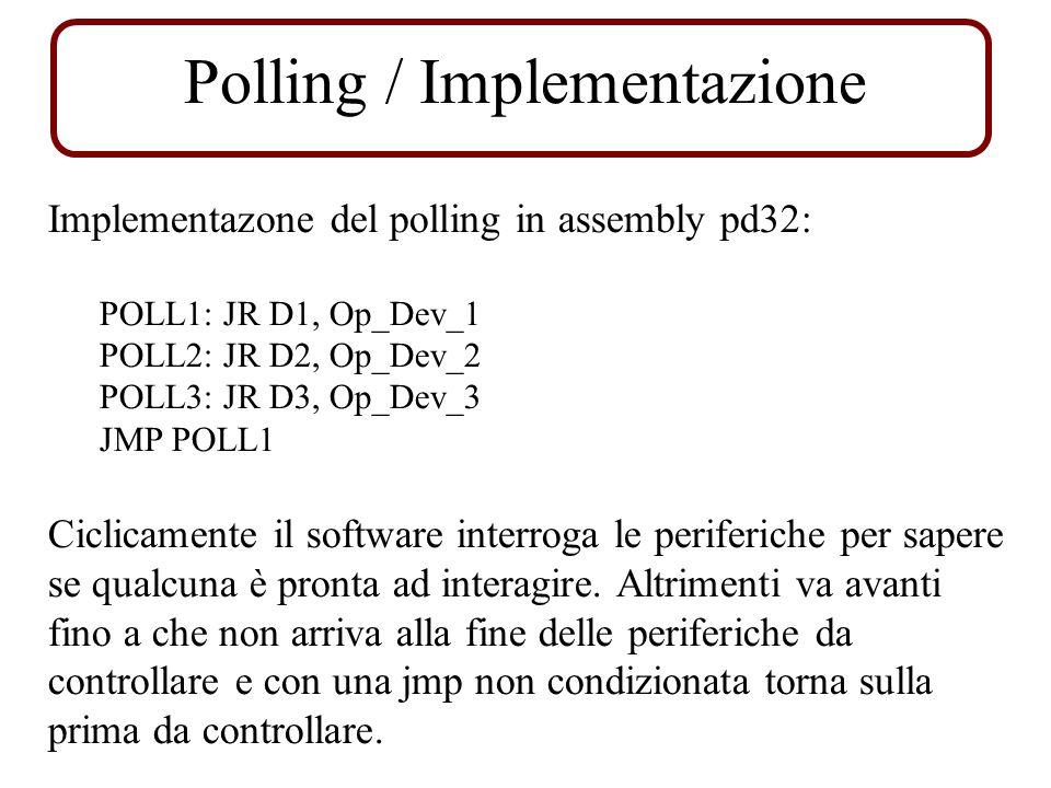 Polling / Implementazione