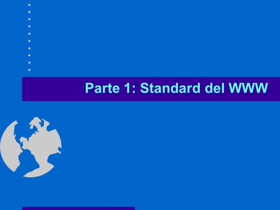 Parte 1: Standard del WWW