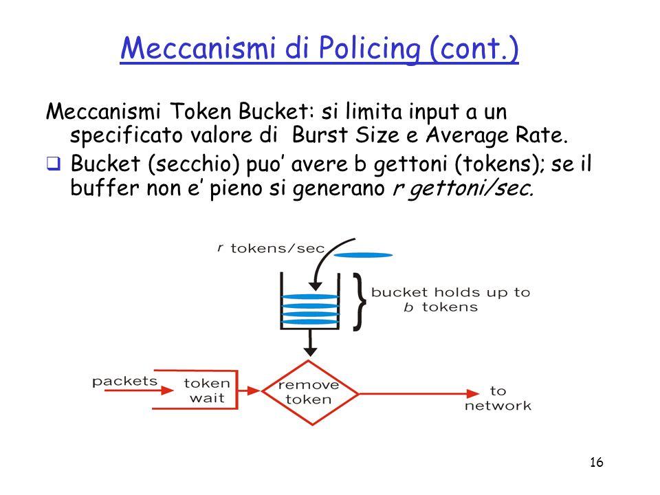 Meccanismi di Policing (cont.)