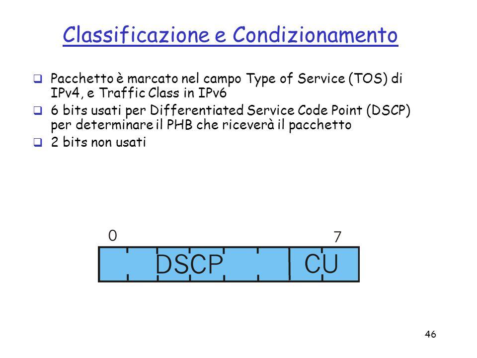 Classificazione e Condizionamento