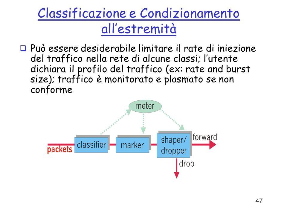 Classificazione e Condizionamento all'estremità