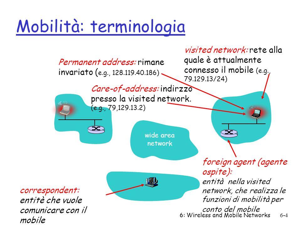 Mobilità: terminologia