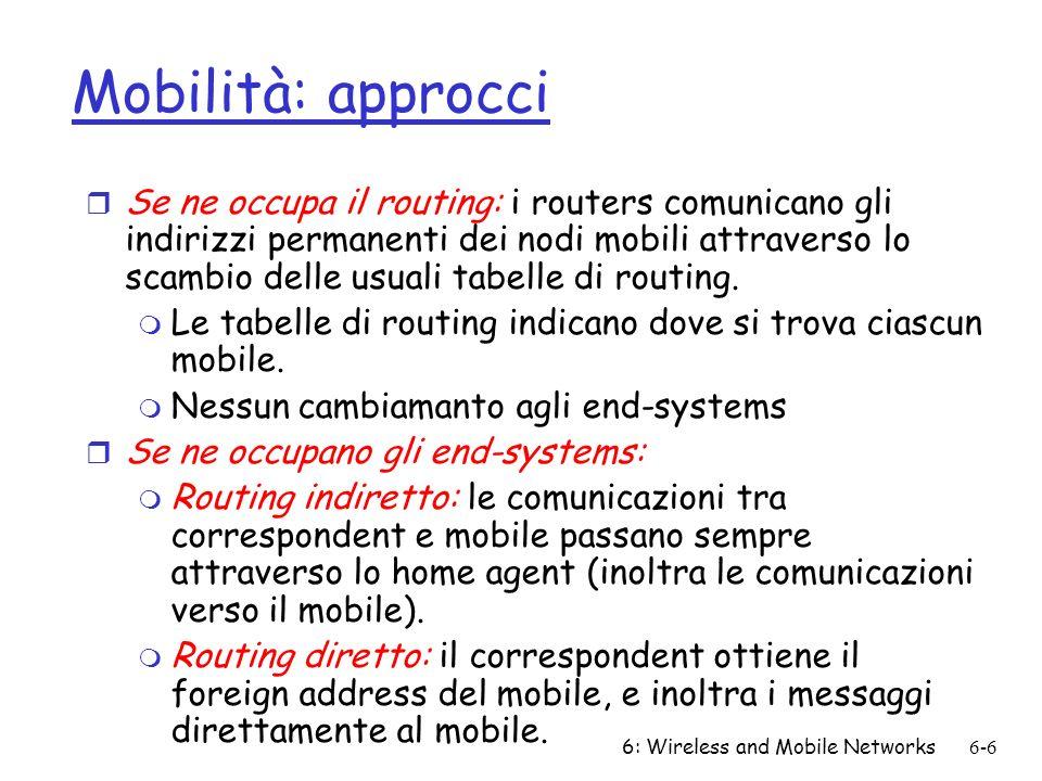 Mobilità: approcci