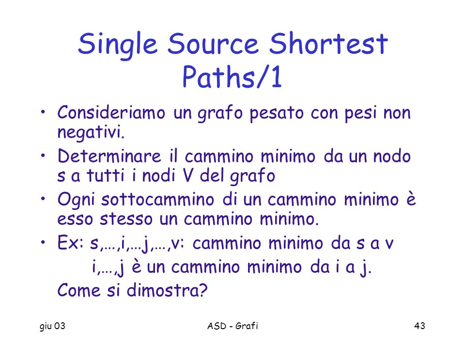 Single Source Shortest Paths/1