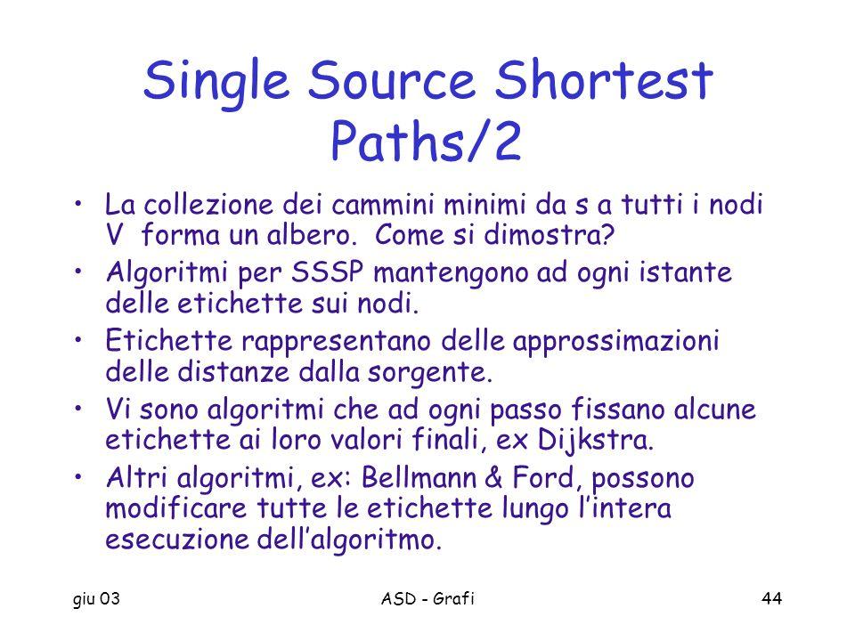 Single Source Shortest Paths/2