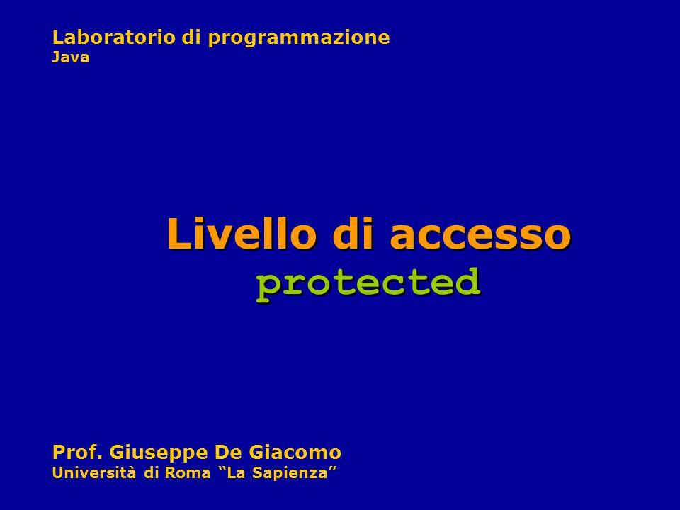 Livello di accesso protected