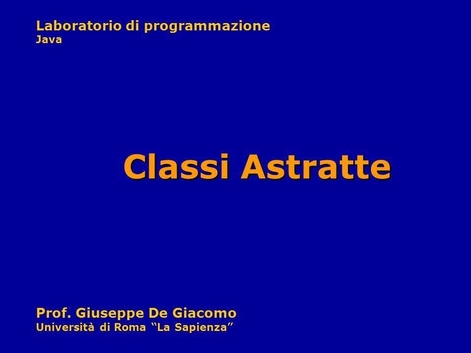 Classi Astratte