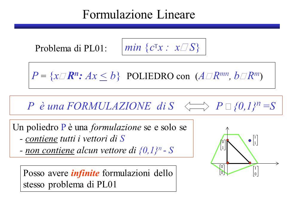 P è una FORMULAZIONE di S