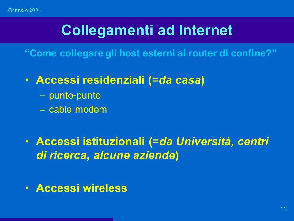 Collegamenti ad Internet