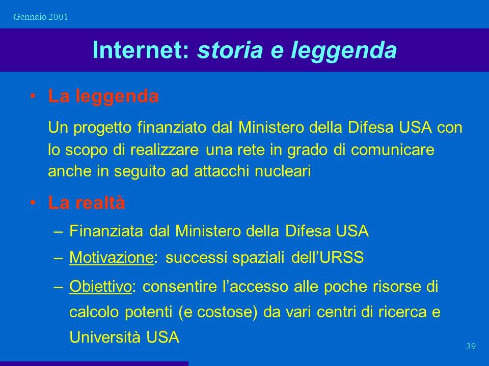 Internet: storia e leggenda