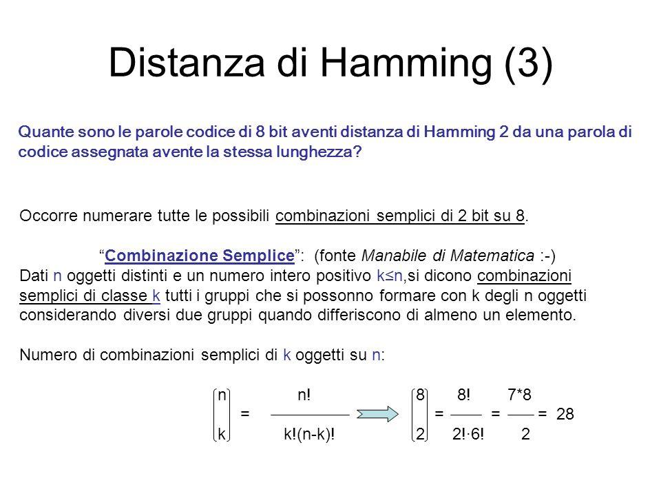 Combinazione Semplice : (fonte Manabile di Matematica :-)