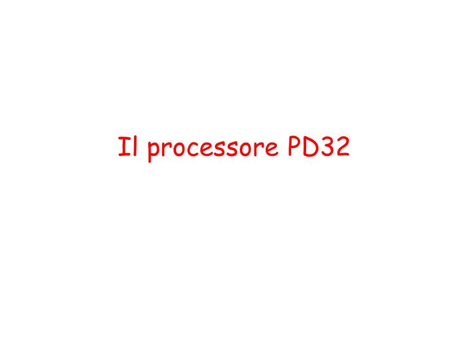 Il processore PD32