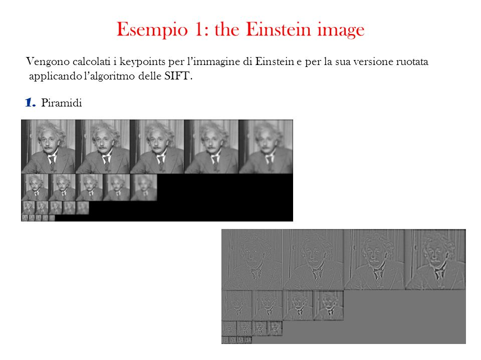 Esempio 1: the Einstein image