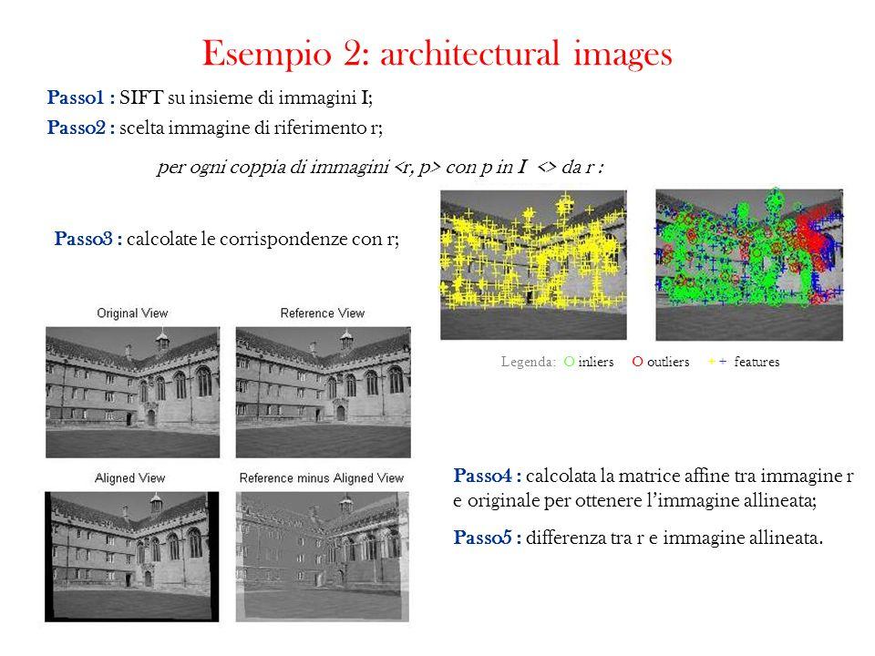 Esempio 2: architectural images