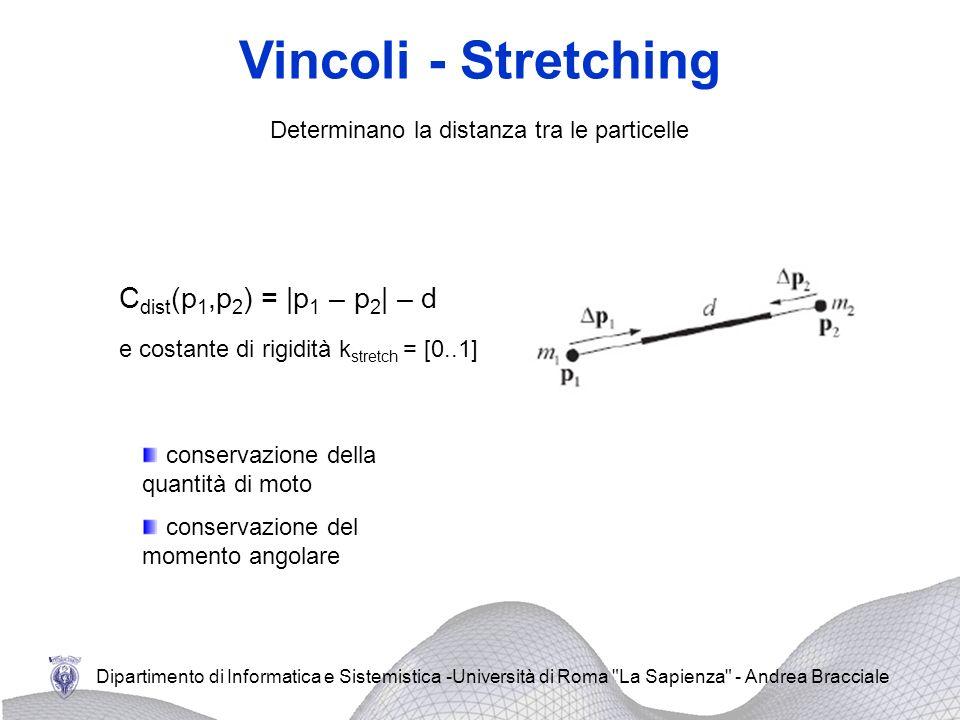 Determinano la distanza tra le particelle