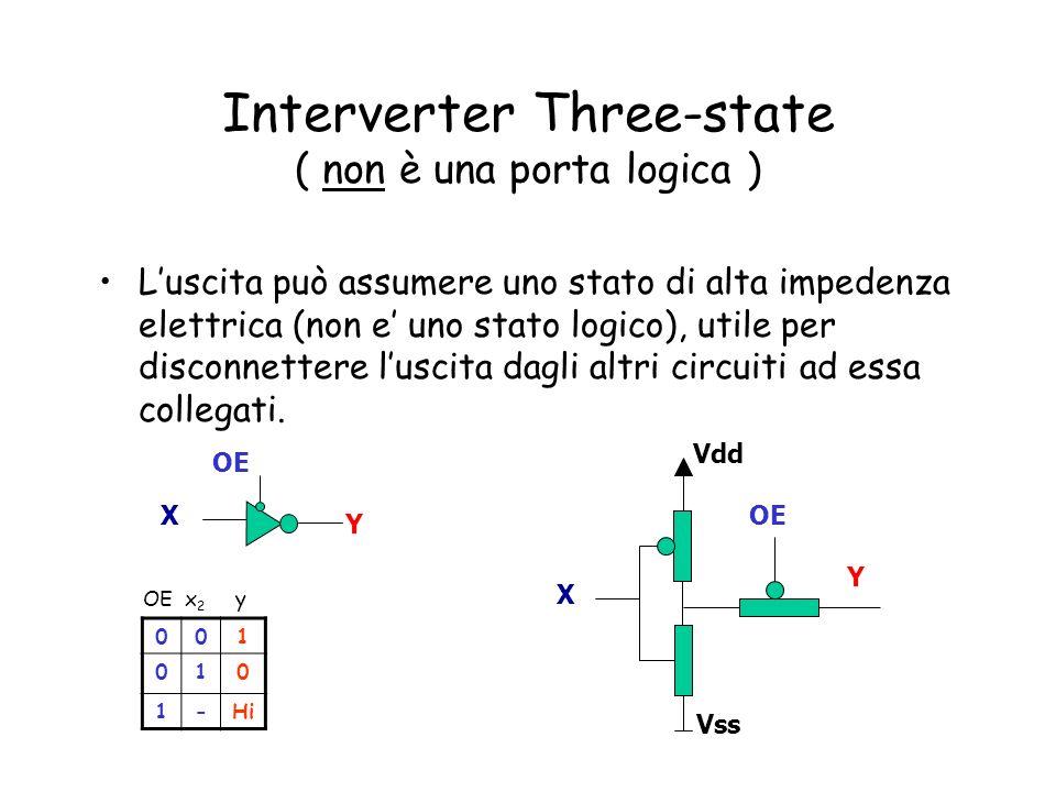 Interverter Three-state ( non è una porta logica )