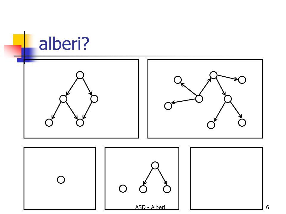 alberi ASD - Alberi