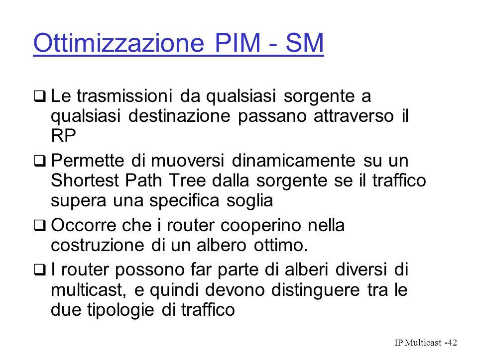 Ottimizzazione PIM - SM