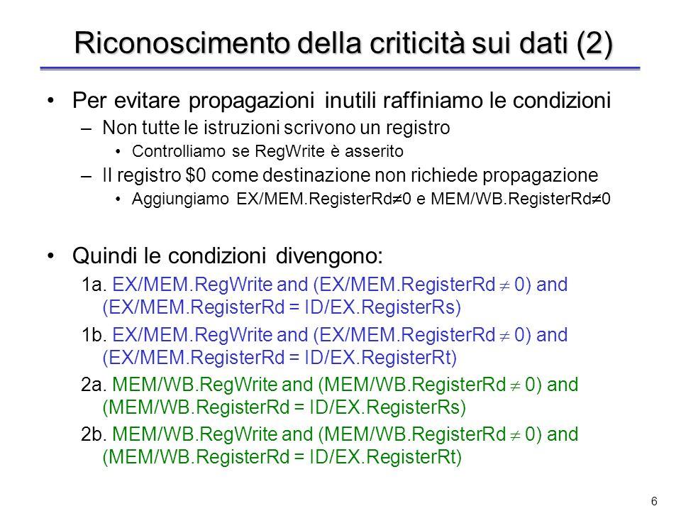 Riconoscimento della criticità sui dati (2)
