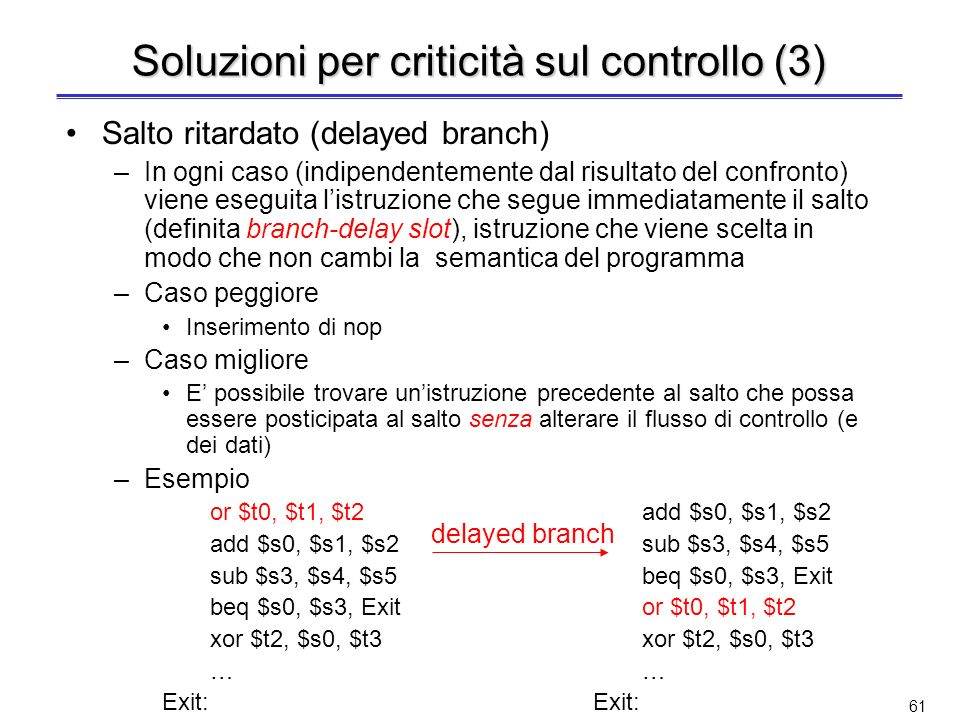 Soluzioni per criticità sul controllo (3)