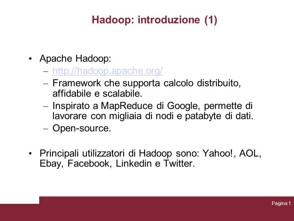 Hadoop: introduzione (1)