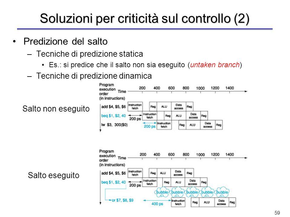Soluzioni per criticità sul controllo (2)