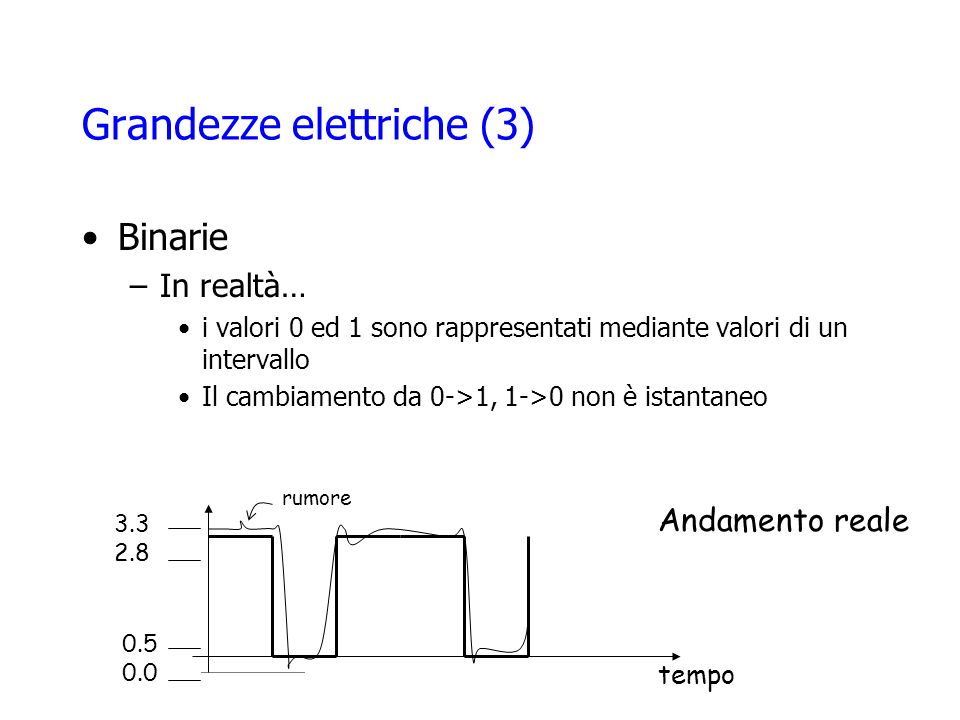 Grandezze elettriche (3)
