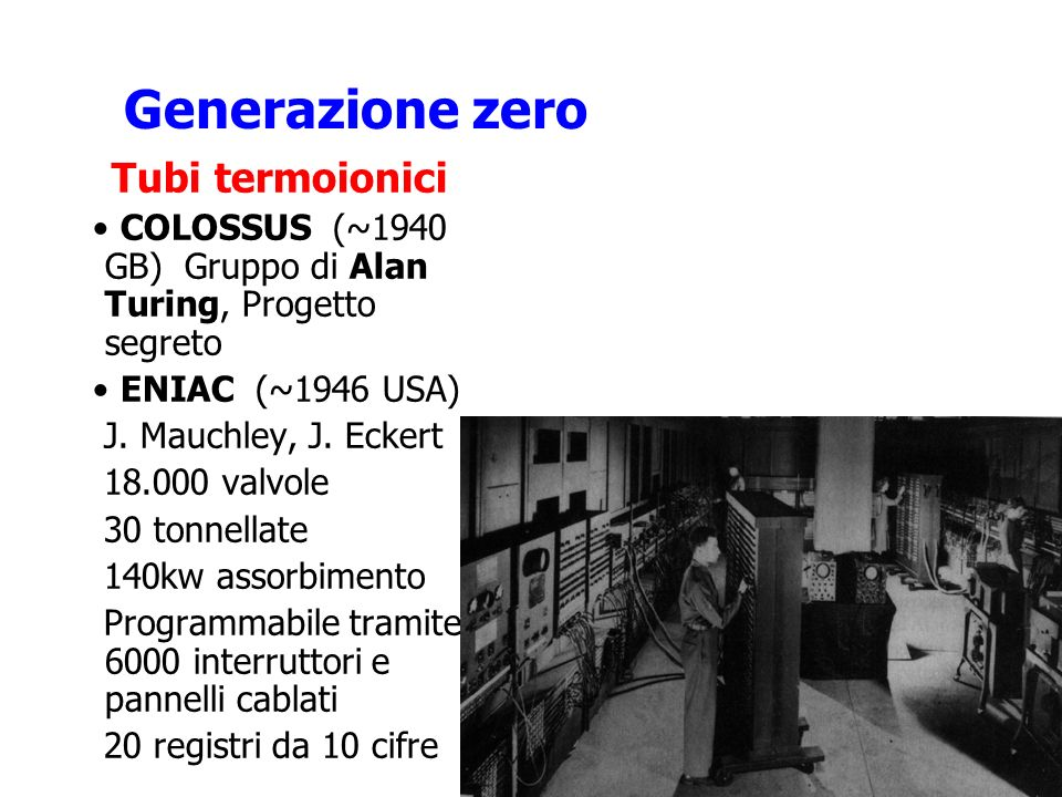Generazione zero Tubi termoionici