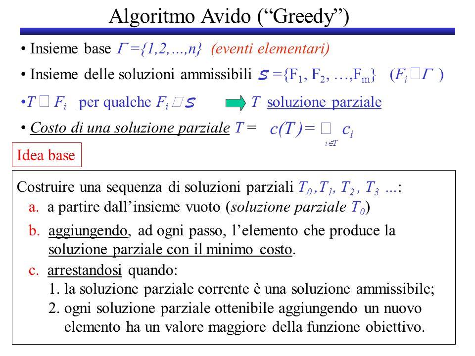 Algoritmo Avido ( Greedy )