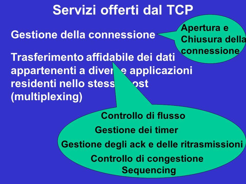 Servizi offerti dal TCP