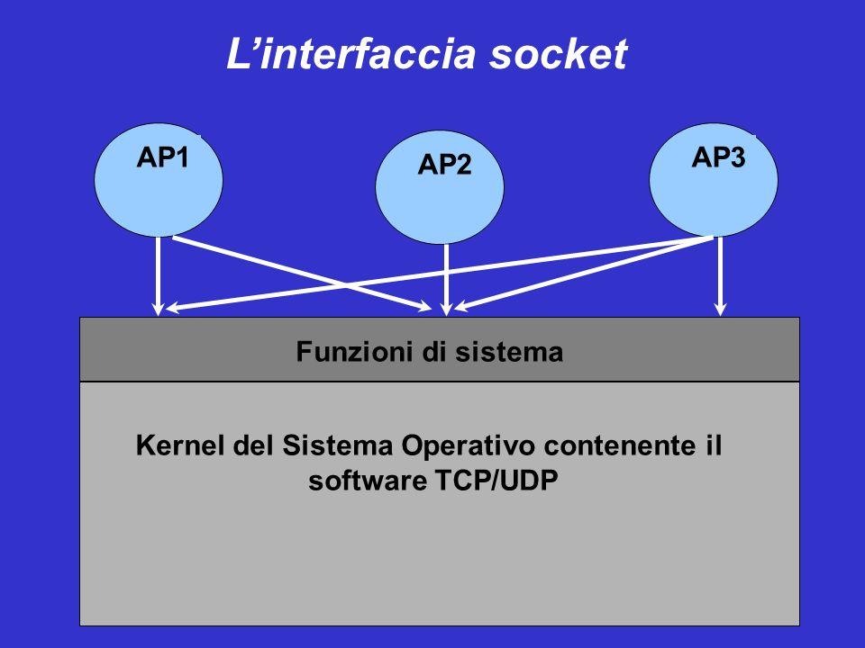 Kernel del Sistema Operativo contenente il