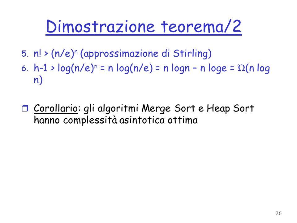 Dimostrazione teorema/2