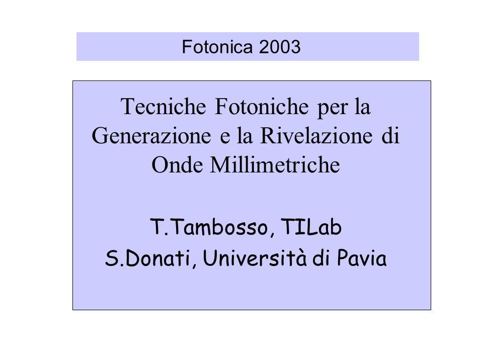 S.Donati, Università di Pavia