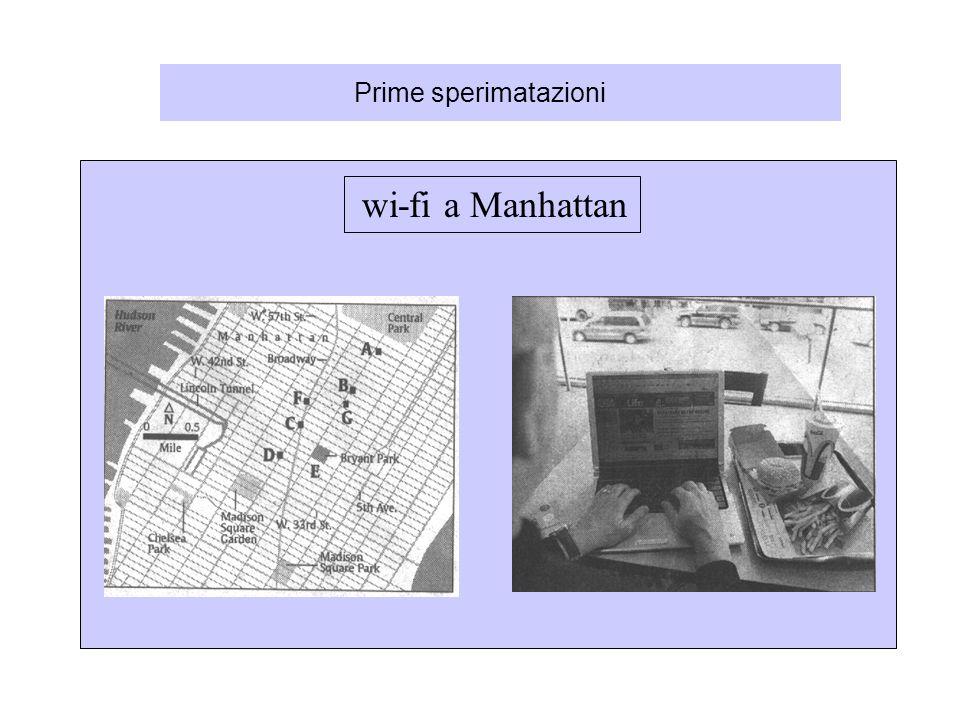 Prime sperimatazioni wi-fi a Manhattan