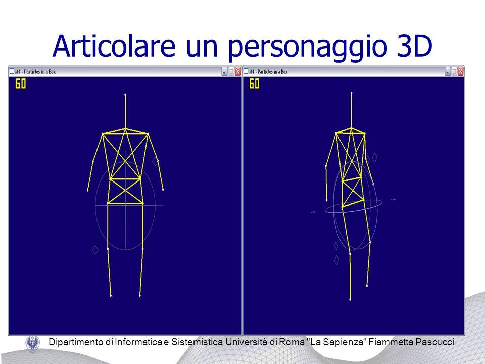 Articolare un personaggio 3D