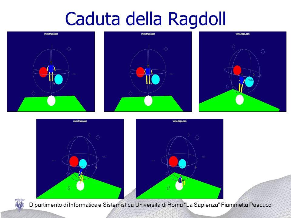 Caduta della Ragdoll Dipartimento di Informatica e Sistemistica Università di Roma La Sapienza Fiammetta Pascucci.