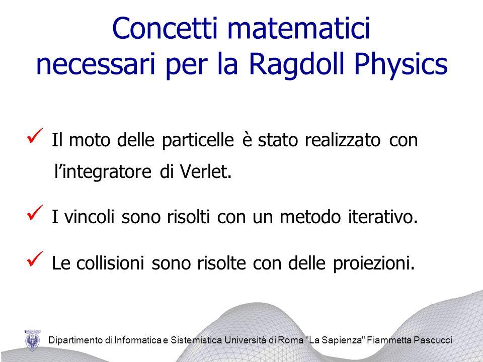 Concetti matematici necessari per la Ragdoll Physics