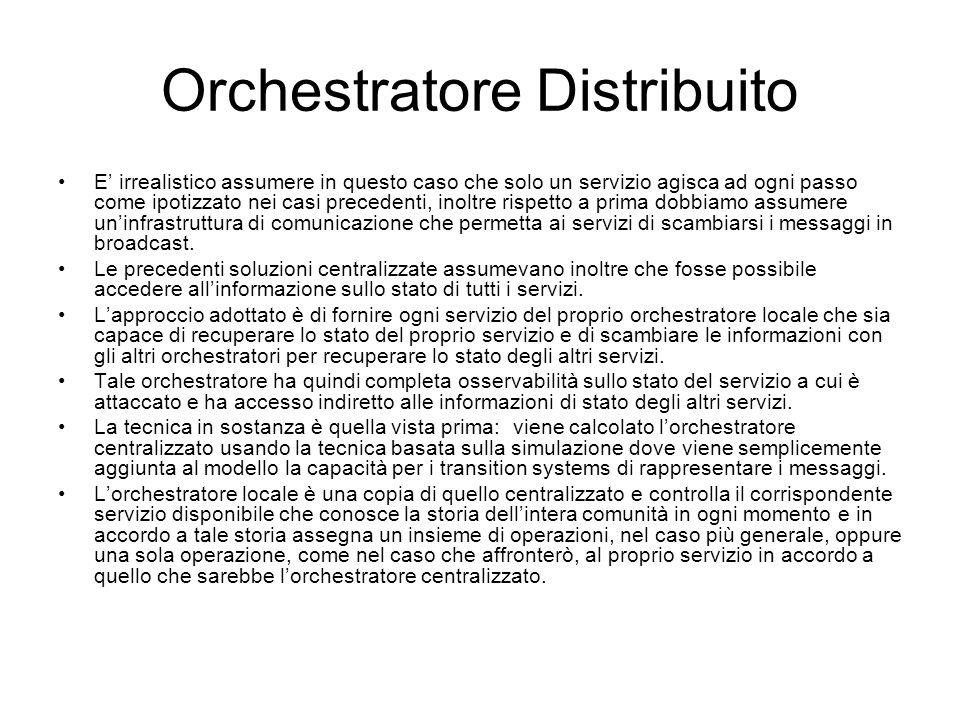 Orchestratore Distribuito