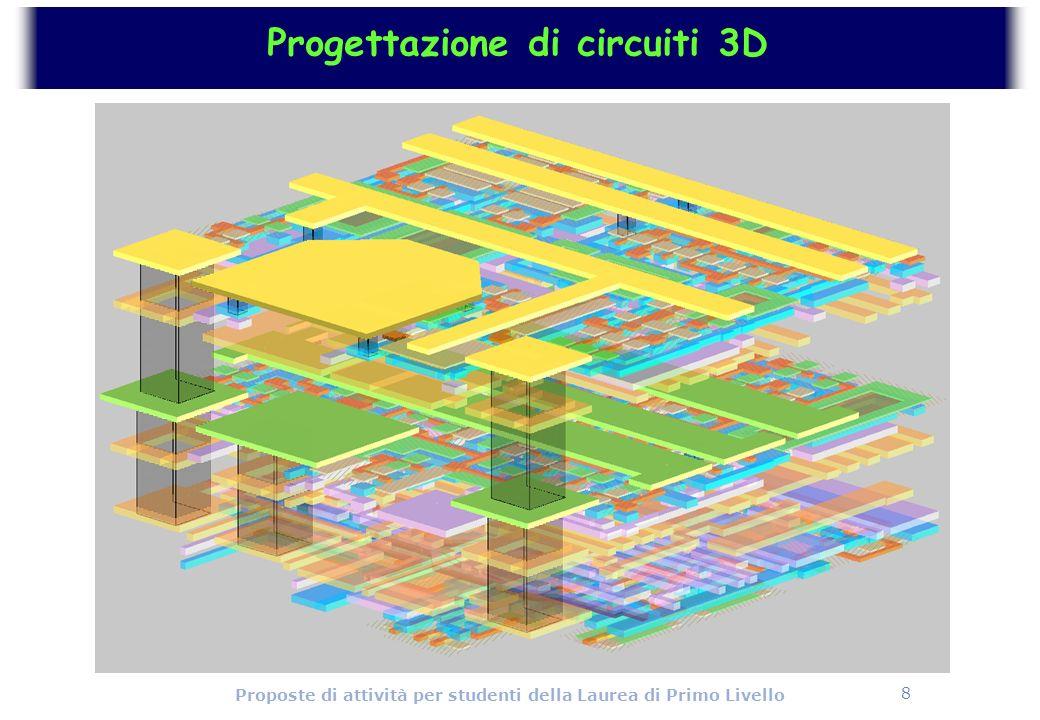 Progettazione di circuiti 3D