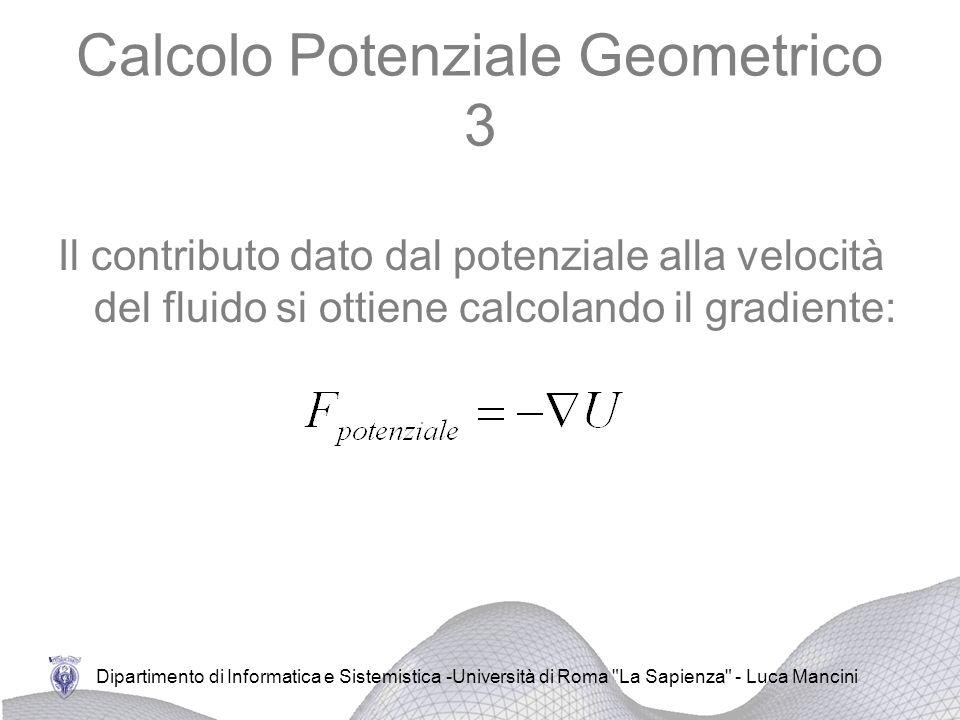 Calcolo Potenziale Geometrico 3
